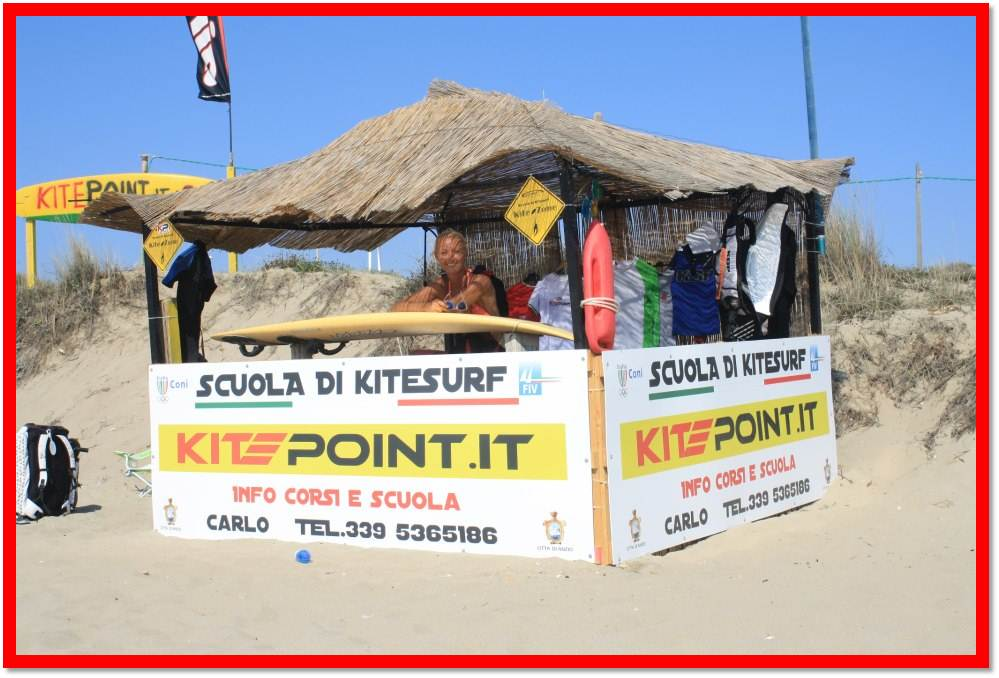 corsi di kitesurf