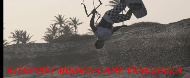KITEPOINT MISSION-CAMP VENEZUELA 2013