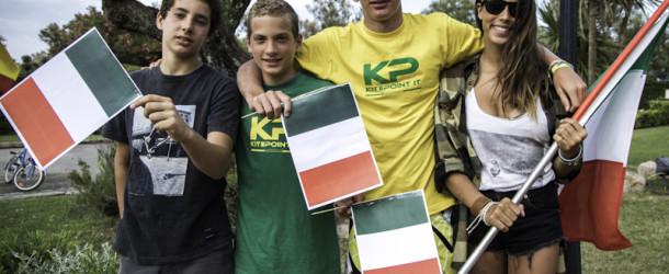 Andrea Vicari porta l'A.S.D. KitePoint alla tappa del PKRA in Costa Brava!!