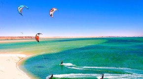 Kitesurf a Dakhla tra le dune del deserto!