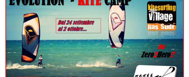 EVOLUTION KITE CAMP – DA ZERO2HERO