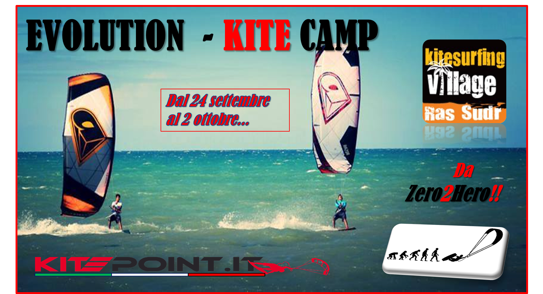 Evolution Kite Camp