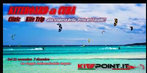 KiteBoard a Cuba Clinic &  KiteTrip