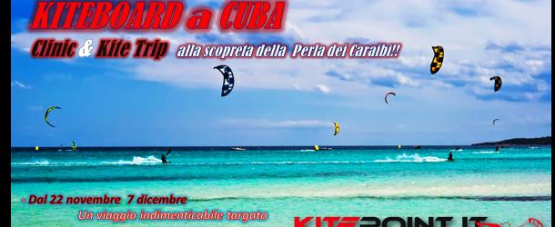 KiteBoard a Cuba