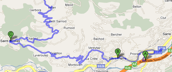 Vetan – Aosta, Valle d'Aosta