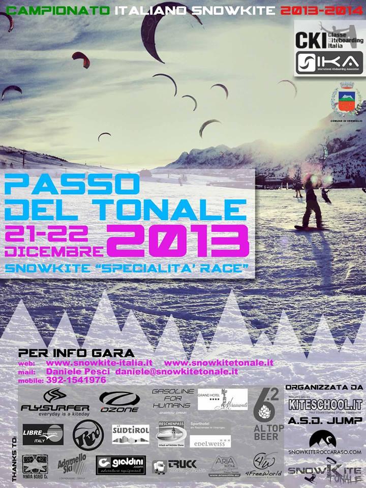 Kitepoint_Prima tappa campionato snowkite 2013