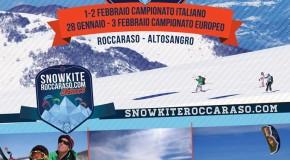 SABATO 21 SNOWKITE CAMP A ROCCARASO!!