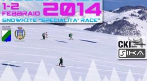 ROCCARASO TAPPA DEL CAMPIONATO ITALIANO DI SNOWKITE!