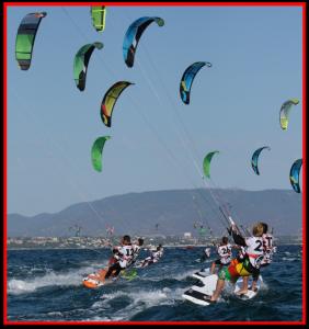 norme di precedenza del kitesurf