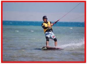 livello 2 kiteboarder