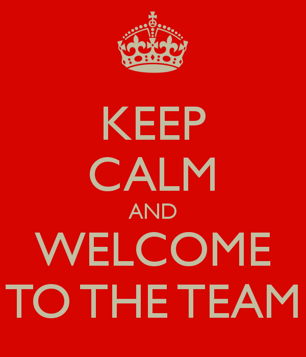keep calm and welcome to the team 1 kitepoint